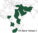 YahSat Y1B Ka band Satellite